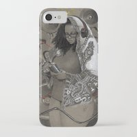 hiphop iPhone & iPod Cases featuring Holy Mother of HipHop Blessed Be Thy Beats. by Kamau Mshale