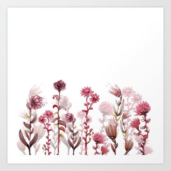 flowers 4 Art Print