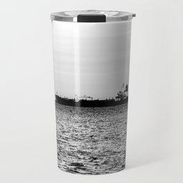 Ship on the Horizon Travel Mug