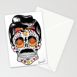 SKULL ROCK / Famous Musical Groups - Symbols - Digital Illustration Art - Pop Art - Wall Decor Stationery Cards