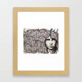 Cerebral freedom (Ode to JDM) Framed Art Print