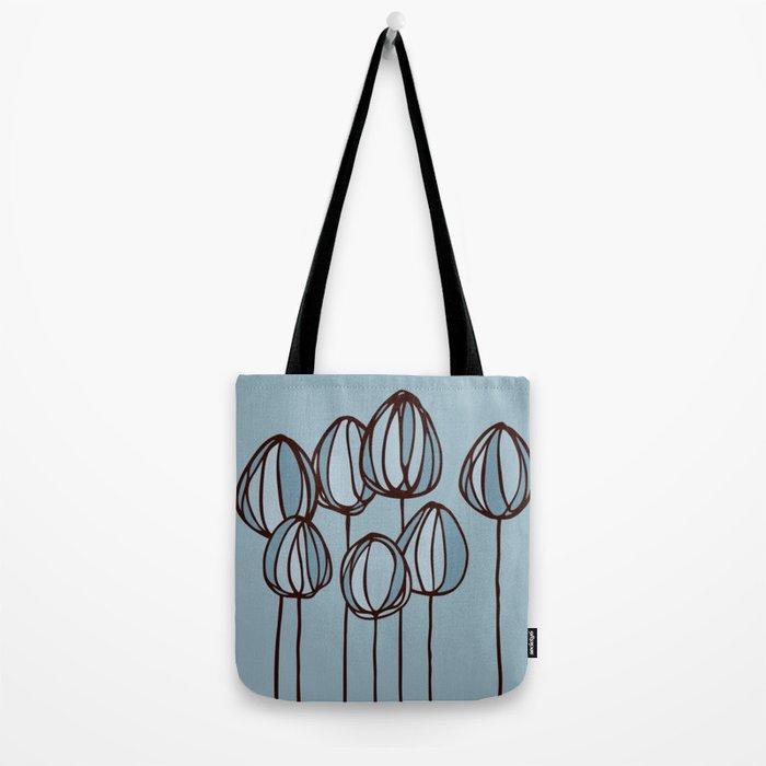 Beach flowers Tote Bag
