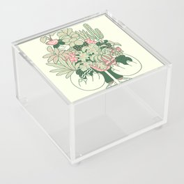 Plants Club (girl) Acrylic Box