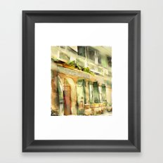 Old Ministry Of Transport Building / Haiti / 06 Framed Art Print