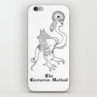 fitness iPhone & iPod Skins featuring Luciferian Fitness Militia by The Centurion Method