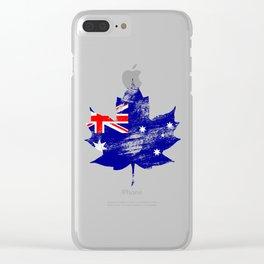Australia/Canada Clear iPhone Case