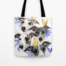 Whippets Tote Bag