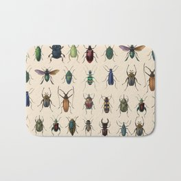 Insects, flies, ants, bugs Bath Mat