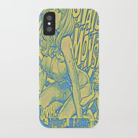 snatch iPhone & iPod Cases featuring Attack Of The 50 Foot Snatch Monster  by S.D. Strobeck