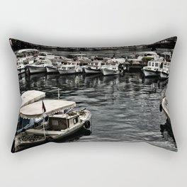 antalya kaleici port Rectangular Pillow