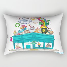 Kawaii Universe Studio Logo  Rectangular Pillow