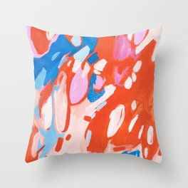 Smitten Throw Pillow