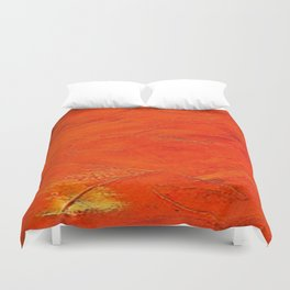 Glazed Terracotta Duvet Cover