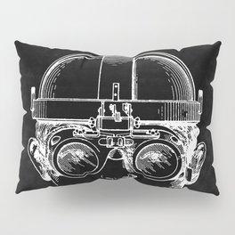 Welding Goggles Blueprint Pillow Sham