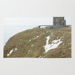 Castle on the Cliffs of Moher Rug