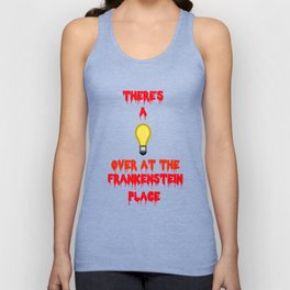 There's a Light  Unisex Tank Top