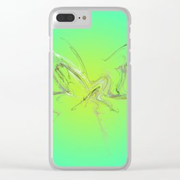 Miss Butterfly Clear iPhone Case