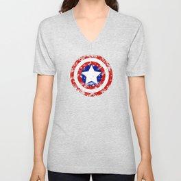 Captain's Shield Unisex V-Neck
