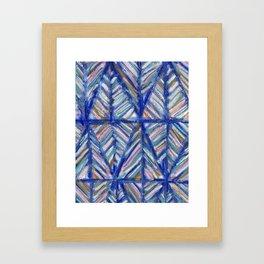 Modern Art Mountains Framed Art Print