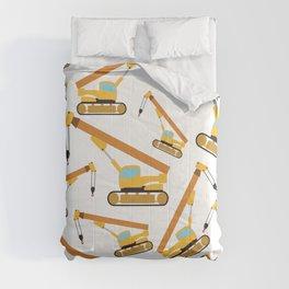 Crane Construction Truck Toy Pattern  Comforters
