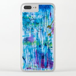 """Acceptance"" Original painting by Toni Becker, Artfully Healing Clear iPhone Case"
