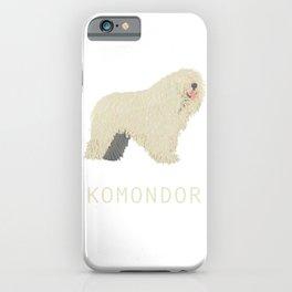 Komondor iPhone Case