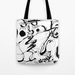 Female Nude #2 - b&w Tote Bag
