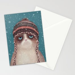Under snow Stationery Cards