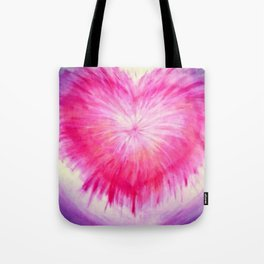 Purifying The Heart Tote Bag
