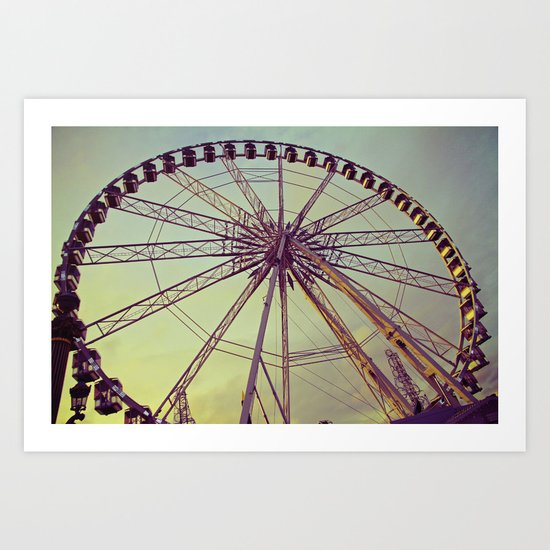 Le Roue Paris Art Print