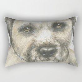Border Terrier Rectangular Pillow