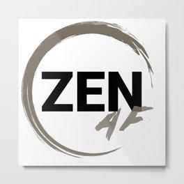 ZENaf Metal Print