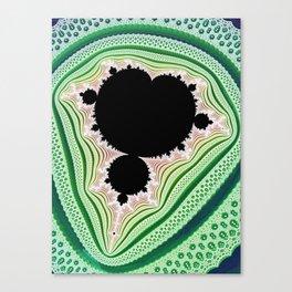 Mandelbrot Lace Canvas Print