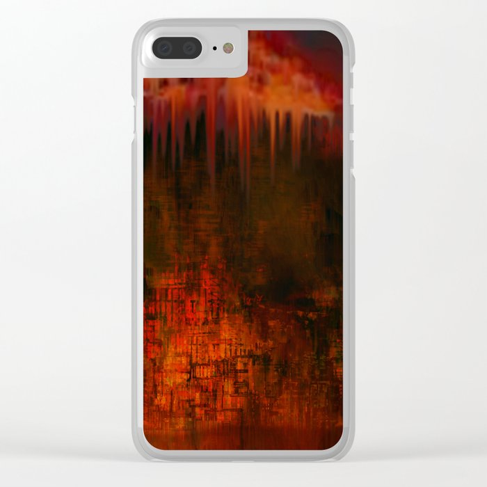 Cave 02 / Golden Fantasy in Palace / wonderful world 07-11-16 Clear iPhone Case