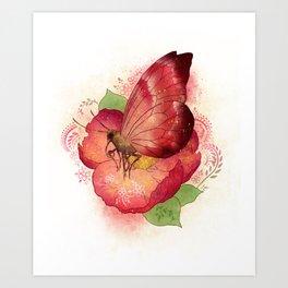 Pollinator Animals- Butterfly Art Print