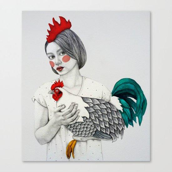 Sleek Gada  Canvas Print