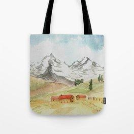 A Highland Village Tote Bag