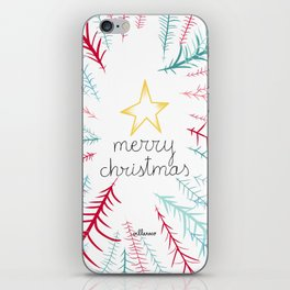 Christmas time - Jungle edition iPhone Skin