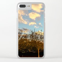 Getty Trees Clear iPhone Case