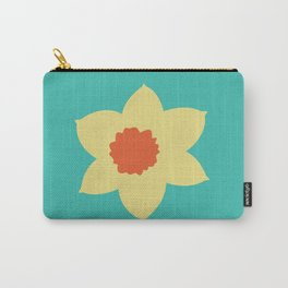 Daffodil Head Carry-All Pouch