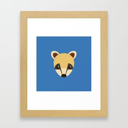 Coati Framed Art Print