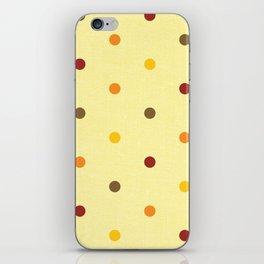 Polka Dot Love iPhone Skin