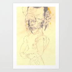 * * * *  * * Art Print