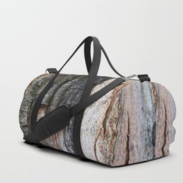 Tree Bark close up Duffle Bag
