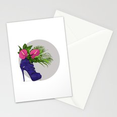 Thank you for flowers Stationery Cards