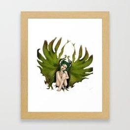 GIL fallen Angel Framed Art Print