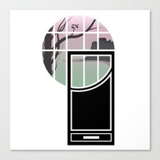 WINDOWS 004: THE CLIFFS Canvas Print
