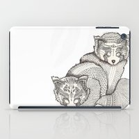 pandas iPad Cases featuring red pandas by Polkip