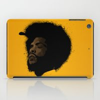 tupac iPad Cases featuring Questlove 2.0 by The Art Warriors