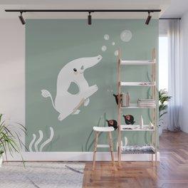 Ocean Elephant Wall Mural